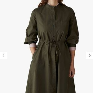 Toast U.K. Brand Cotton Shirt Dress